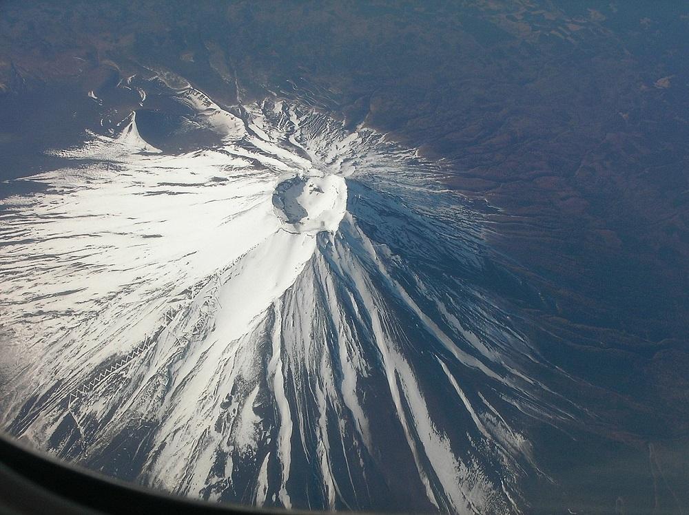 góra fudżi wiśnie