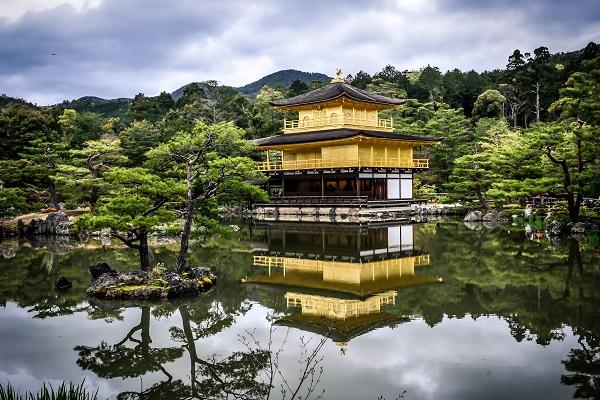 Świątynia Złotego Pawilonu w Kioto
