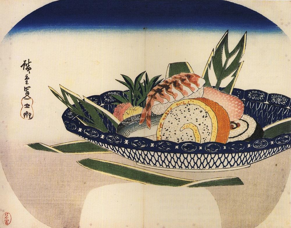 miska sushi hiroshige utagawa