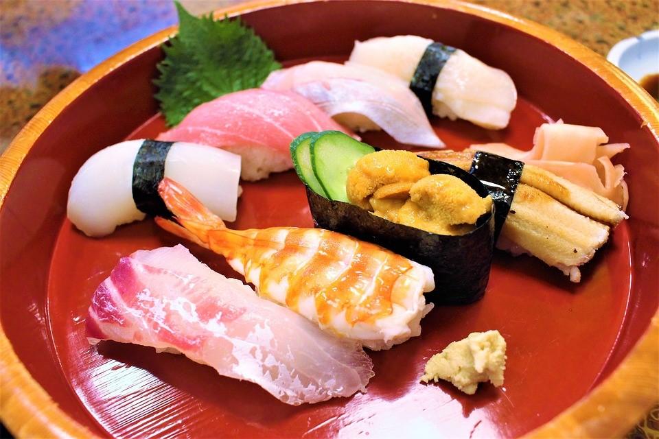 japońskie sushi