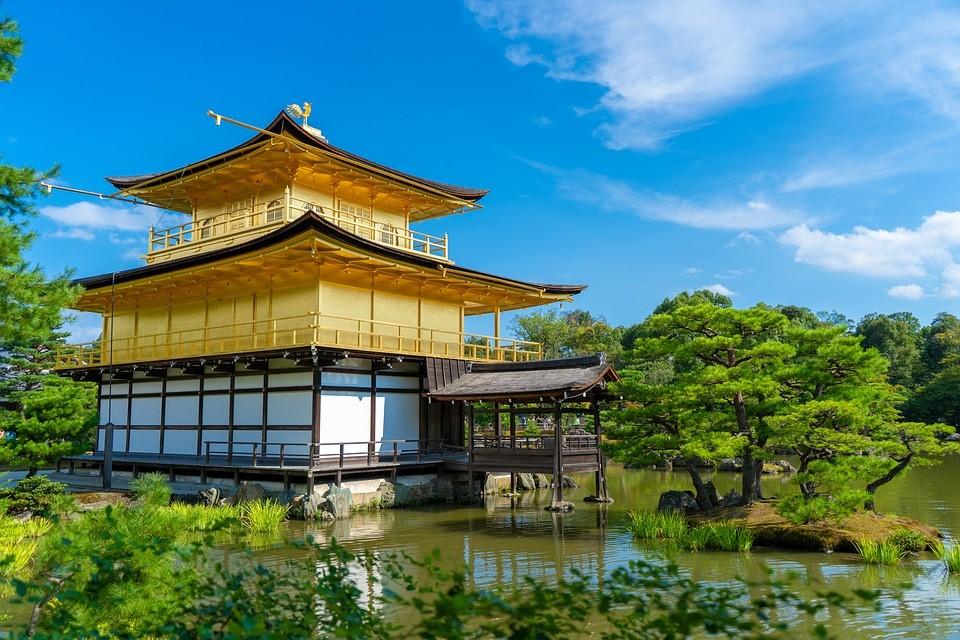 świątynia złotego pawilonu