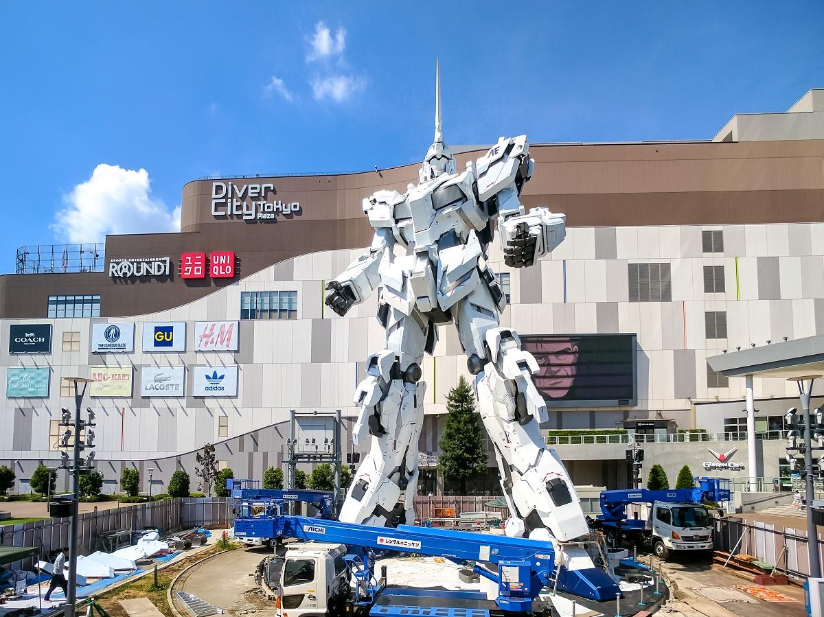 Gundam Unicorn na Odaibie