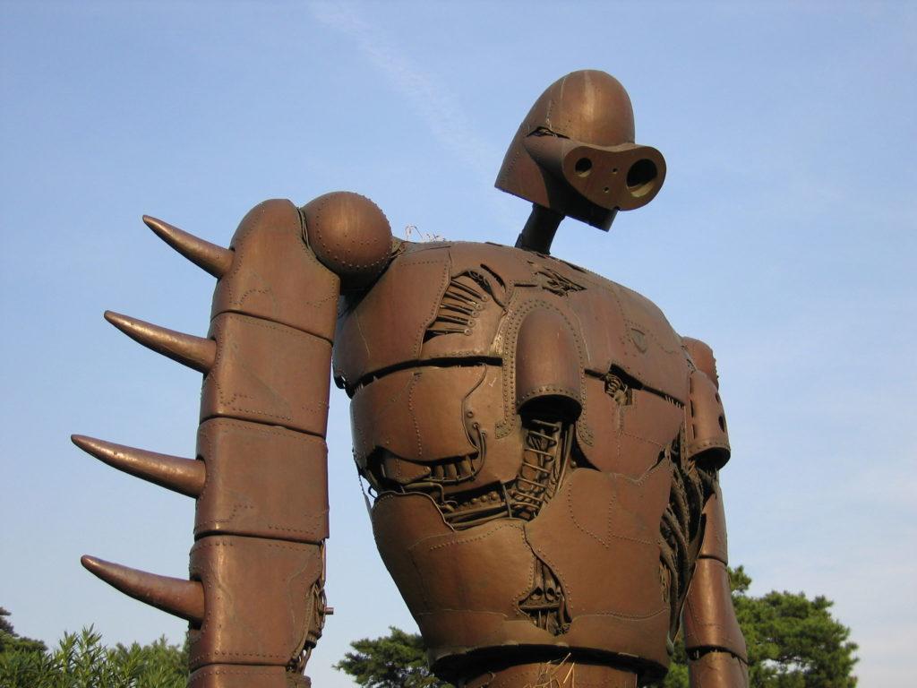 """Robot z filmu """"Laputa – podniebny zamek"""""""