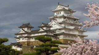 Zamek Himeji w Japonii